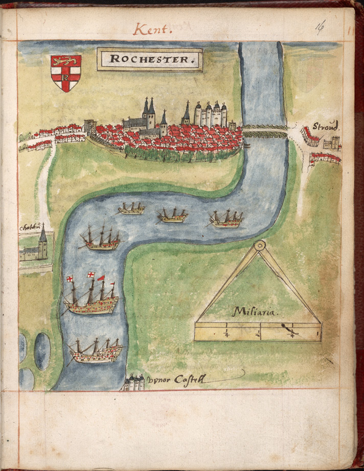 Map view of Rochester, from William Smith